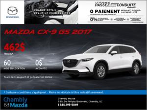 Offrez-vous la Mazda CX-9 GS 2017