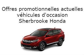 Offres promotionnelles actuelles véhicule occasion