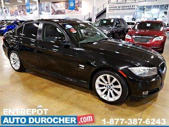 3 Series 2011 BMW LUXURY AWD AUTOMATIQUE TOIT OUVRANT SIÈGES EN CUIR