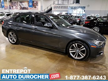 2014 BMW 3 Series 320i xDrive 4X4 TOIT OUVRANT  AIR CLIMATISÉ - CUIR