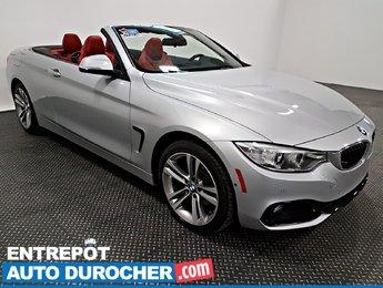 2016 BMW 4 Series 428i xDrive 4X4 DÉCAPOTABLE - NAVIGATION - Cuir