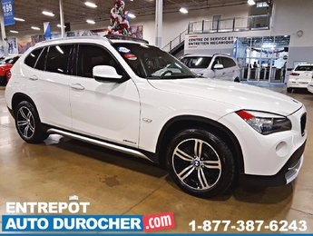 2012 BMW X1 28i, 4X4, AUTOMATIQUE, TOIT OUVRANT, AIR CLIMATISÉ