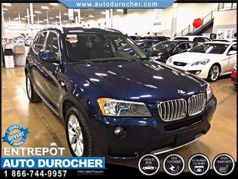 BMW X3 AWD NAVIGATION GROUPE PREMIUM ET TECHNOLOGIE 2013