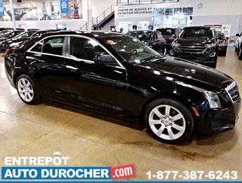 2014 Cadillac ATS RWD - Automatique - A/C - Cuir - BOSE - Bluetooth