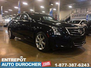 2014 Cadillac ATS Luxury AWD Automatique - A/C - Caméra de Recul -