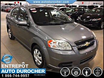 Chevrolet Aveo LS AUTOMATIQUE TOUT ÉQUIPÉ AIR CLIMATISÉ 2009