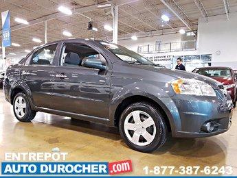 2011 Chevrolet Aveo LT - AUTOMATIQUE - AIR CLIMATISÉ - TOIT OUVRANT