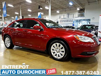 2013 Chrysler 200 LX AUTOMATIQUE - AIR CLIMATISÉ - GROUPE ÉLECTRIQUE