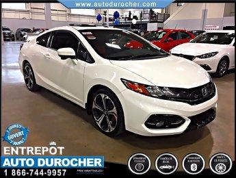 2015 Honda Civic Coupe SI CAMERA DE RECUL TOIT OUVRANT JANTES 18 POUCES