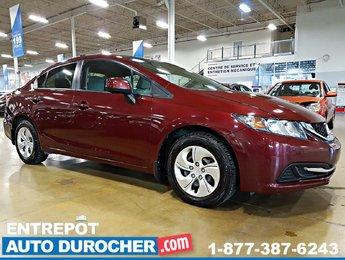 2013 Honda Civic Sdn LX AIR CLIMATISÉ SIÈGES CHAUFFANTS