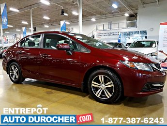 2014 Honda Civic Sedan LX - AUTOMATIQUE - SIÈGES CHAUFFANTS