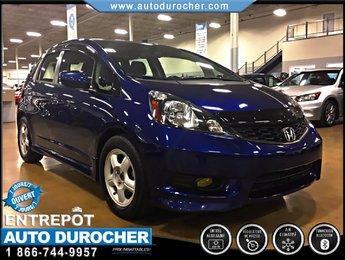 Honda Fit Sport TOUT ÉQUIPÉ ÉCONOMIQUE BLUETOOTH AUX 2013