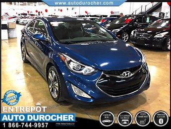 Hyundai Elantra Coupe COUPE SE MANUELLE CUIR CAMÉRA BLUETOOTH NAVIGATION 2014