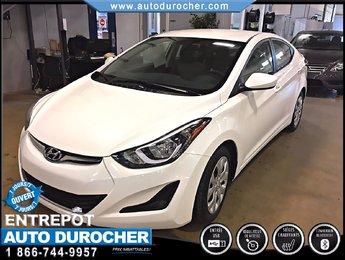 Hyundai Elantra GL AUTOMATIQUE TOUT ÉQUIPÉ BANCS CHAUFFANTS 2014