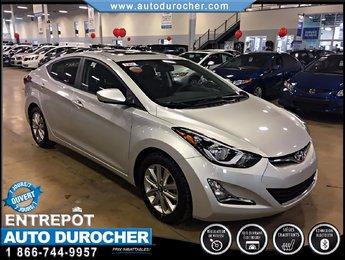 Hyundai Elantra SPORT AUTOMATIQUE TOUT ÉQUIPÉ TOIT OUVRANT JANTES 2016