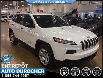 Jeep Cherokee SPORT-CAMERA RECUL-BLUETOOTH-SIÈGE/VOLANT CHAUF. 2014