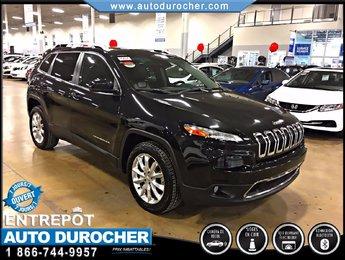 Jeep Cherokee Limited TOUT ÉQUIPÉ CUIR TOIT OUVRANT NAVIGATION 2015