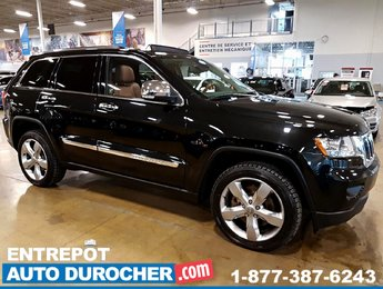 2013 Jeep Grand Cherokee Overland 4X4 - NAVIGATION - TOIT OUVRANT - CUIR