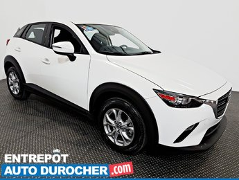 2019 Mazda CX-3 GS 4X4 Automatique - A/C - Caméra de Recul -