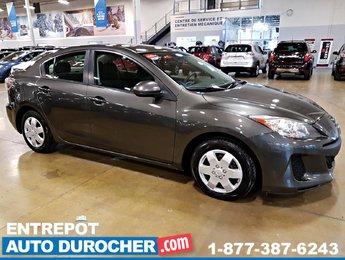 2012 Mazda Mazda3 GX AUTOMATIQUE, AIR CLIMATISÉ, GROUPE ÉLECTRIQUE
