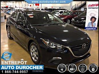 2014 Mazda Mazda3 GX-SKY AUTOMATIQUE TOUT ÉQUIPÉ BLUETOOTH