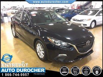 2014 Mazda Mazda3 GS-SKY AUTOMATIQUE TOUT ÉQUIPÉ CAMÉRA DE RECUL