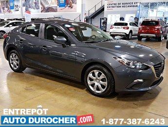 2015 Mazda GX - GROUPE ÉLECTRIQUE Mazda3