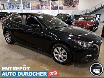 2016 Mazda Mazda3 ÉCONOMIQUE - Groupe Électrique