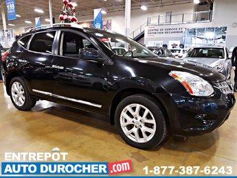 2013 Nissan Rogue AWD AUTOMATIQUE, AIR CLIMATISÉ, TOIT OUVRANT, CUIR