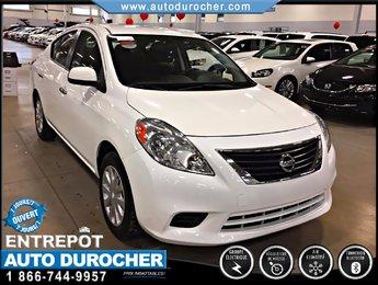 Nissan Versa SV AUTOMATIQUE TOUT ÉQUIPÉ AIR CLIMATISÉ BLUETOOTH 2012