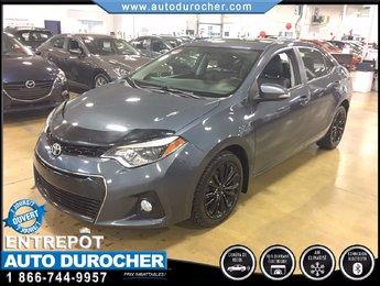 Toyota Corolla S CAMÉRA RECUL SIÈGES CHAUFFANTS 2015