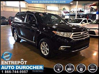 2011 Toyota Highlander AUTOMATIQUE TOUT ÉQUIPÉ CAMERA DE RECUL 7 PASSAGER