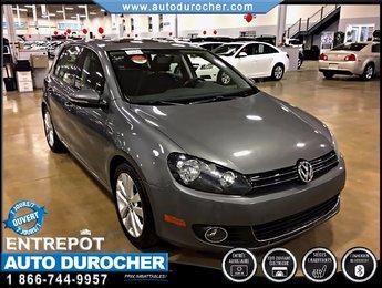 Volkswagen Golf WOLFSBURG TOUT ÉQUIPÉ JANTES TOIT OUVRANT 2013