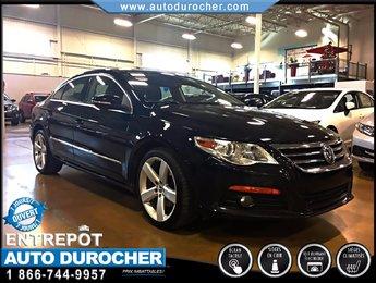 2011 Volkswagen Passat CC HIGHLINE AUTOMATIQUE CUIR TOIT JANTES BLUETOOTH
