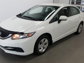 Honda Civic Sedan 2014 LX, bluetooth, régulateur, sièges chauffants