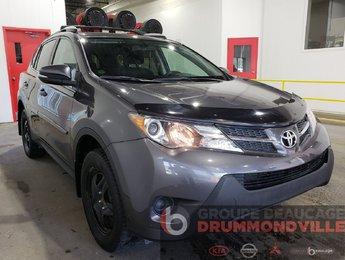 Toyota RAV4 2015 LE - AWD - BAS PRIX! - HITCH - CAMÉRA - BAS KM!