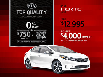 Get the New 2017 Kia Forte Today