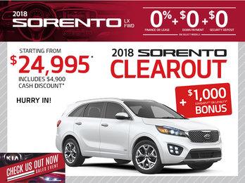 2018 Sorento