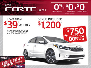 2018 Forte
