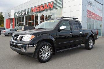 Nissan Frontier SL 4X4 CREW CAB CUIR TOIT OUVRANT REMORQUE 6000LBS 2012