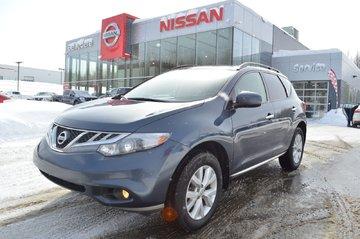 2012 Nissan Murano SV AWD TOIT OUVRANT SIÈGE CHAUFFANT CAMÉRA  RECUL