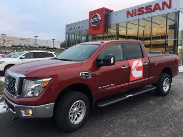 2017 Nissan Titan XD 3/4 DE TONNE SV DIESEL, FLAMBANT NEUF