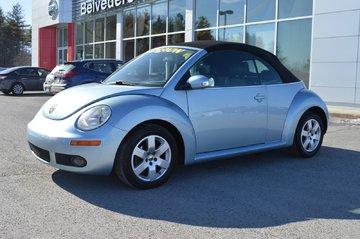 2007 Volkswagen New Beetle Convertible DéCAPOTABLE CUIR AUTOMATIQUE