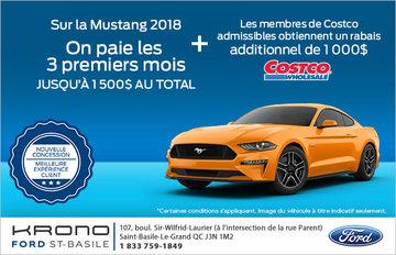 Économisez sur la Ford Mustang!