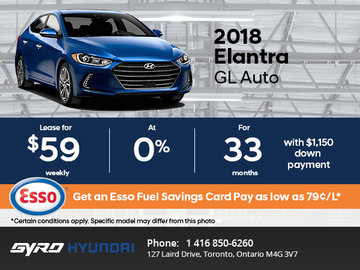 Get the All-New 2018 Hyundai Elantra GL Today!