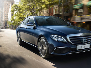 The 2017 Mercedes-Benz E-Class packs some impressive features