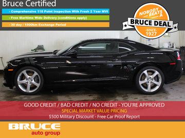 2015 Chevrolet Camaro SS 6.2L 8 CYL 6 SPD MANUAL RWD 2D COUPE
