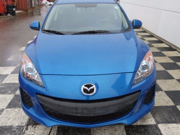 2013 Mazda Mazda3 GS-SKY 2.0L 4 CYL 6 SPD MANUAL FWD 4D SEDAN