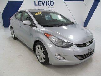 2012 Hyundai Elantra LIMITED **CUIR +TOIT + BLUETOOTH**
