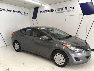 2013 Hyundai Elantra GL / SIÈGES CHAUFFANTS / COMMANDE VOCALE AU VOLANT